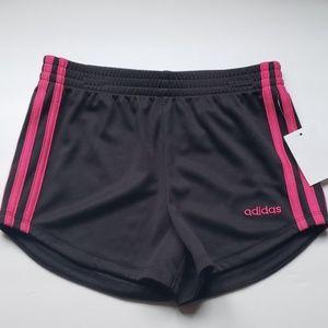 Adidas girls shorts size 6